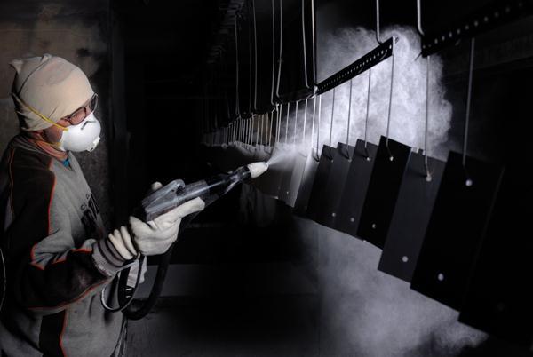 Aluminiumpoedercoaten